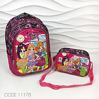 Детский рюкзак и сумочка 3d