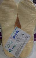 Тапочки одноразовые Doily (25 пар\пач) из рифленого пенополиэтилена