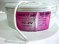Кабель ТV экранированный высокочастотный Eurosat 3c-2v