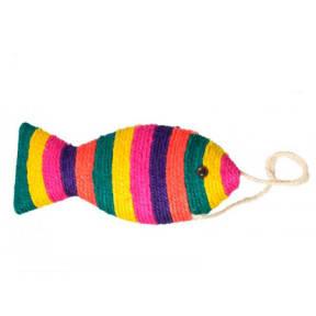 Когтеточка Рыбка на подвесе пятицветная. УНИ S2033