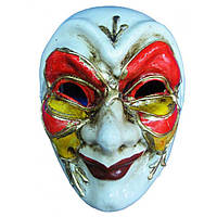 Маска карнавальная Венецианская папье-маше (24,5см) 20925