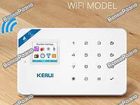 Kerui W18 WI-FI GSM SMS. Сигнализация беспроводная KERUI W18 WIFI Русская версия