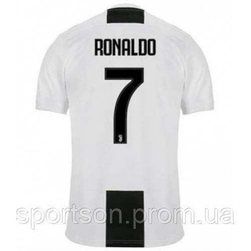 Футбольная форма 2018-2019 Ювентус (Juventus), домашняя Ronaldo