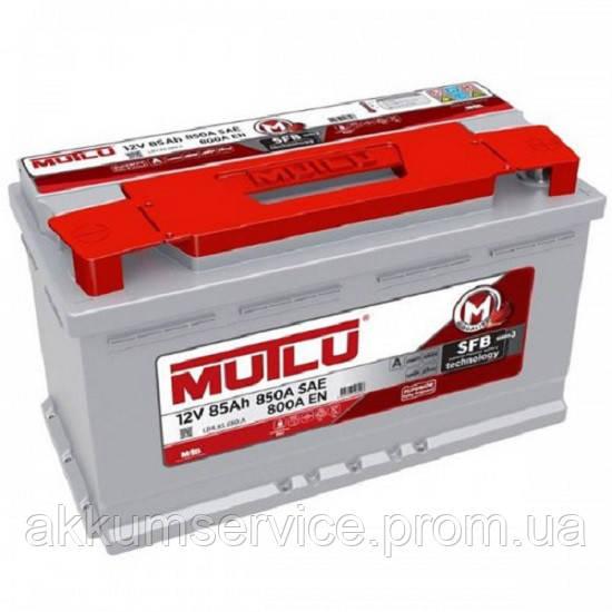 Аккумулятор автомобильный Mutlu Silver 85AH R+ 850A (LB4.85.080.A)
