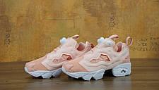 Женские кроссовки Reebok Wmns x Size Insta Pump Fury NT OG Pink/White, фото 2