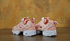 Женские кроссовки Reebok Wmns x Size Insta Pump Fury NT OG Pink/White, фото 3