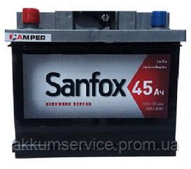 Аккумулятор автомобильный SANFOX 45Ah L+ 360A