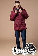 Куртка с температурным датчиком зимняя Braggart Dress Code - 12481S красная