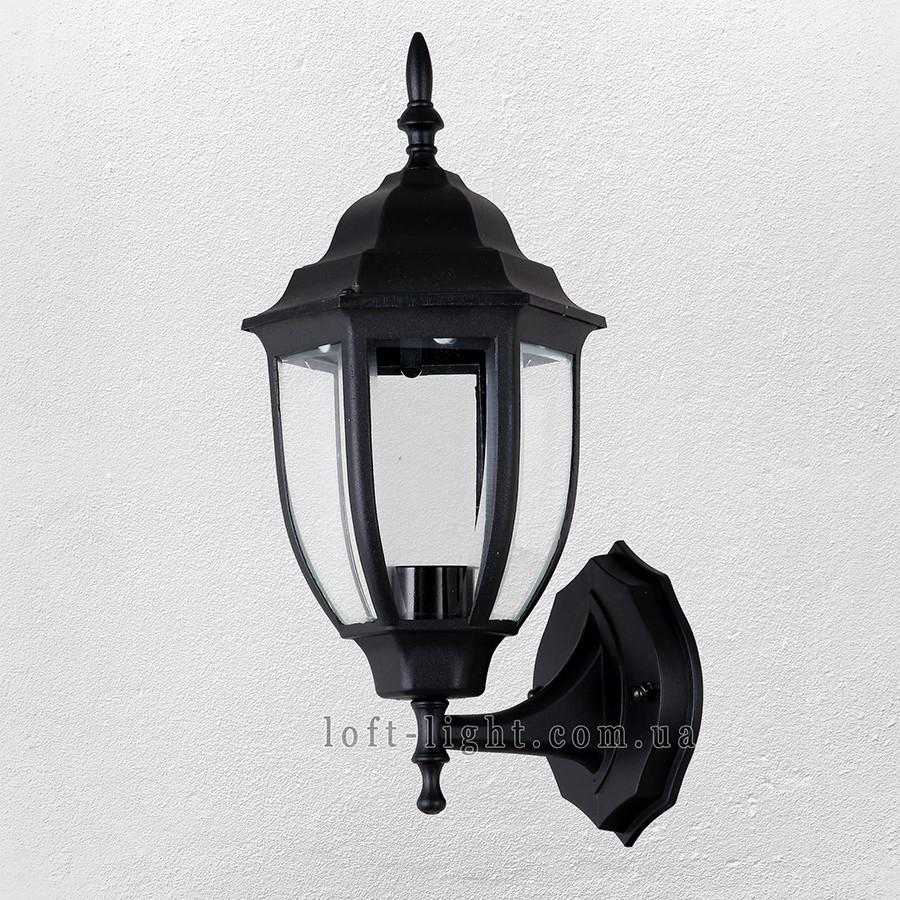 Садово-парковый светильник , бра ( модель  67-V3802-S-WL BK  )
