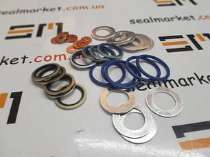 Шайбы, кольца металлические, фланцевые уплотнения
