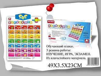 Интерактивный плакат Букваешка