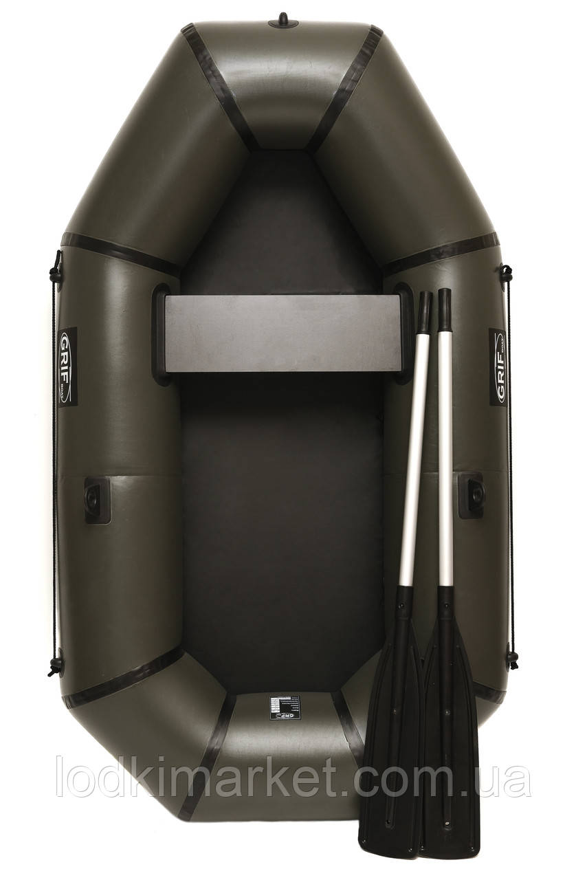 Полуторная надувная Лодка ПВХ Grif boat GL-210