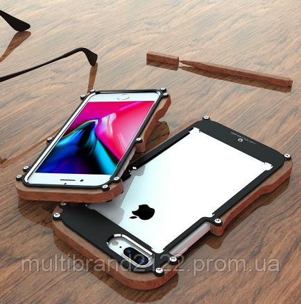 af15197ca06c Дизайнерский чехол Iron Man Wood Black для iPhone 8 plus: продажа ...