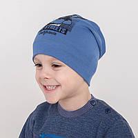 Хлопковая шапка для мальчика на весну оптом - California - Артикул 2131