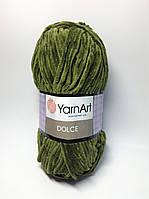 Пряжа dolce - цвет зеленый