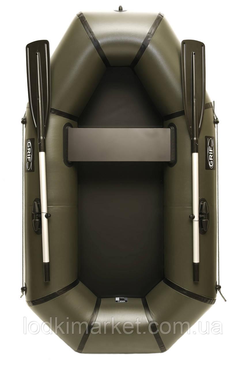 Полуторная надувная Лодка ПВХ Grif boat GL-210L