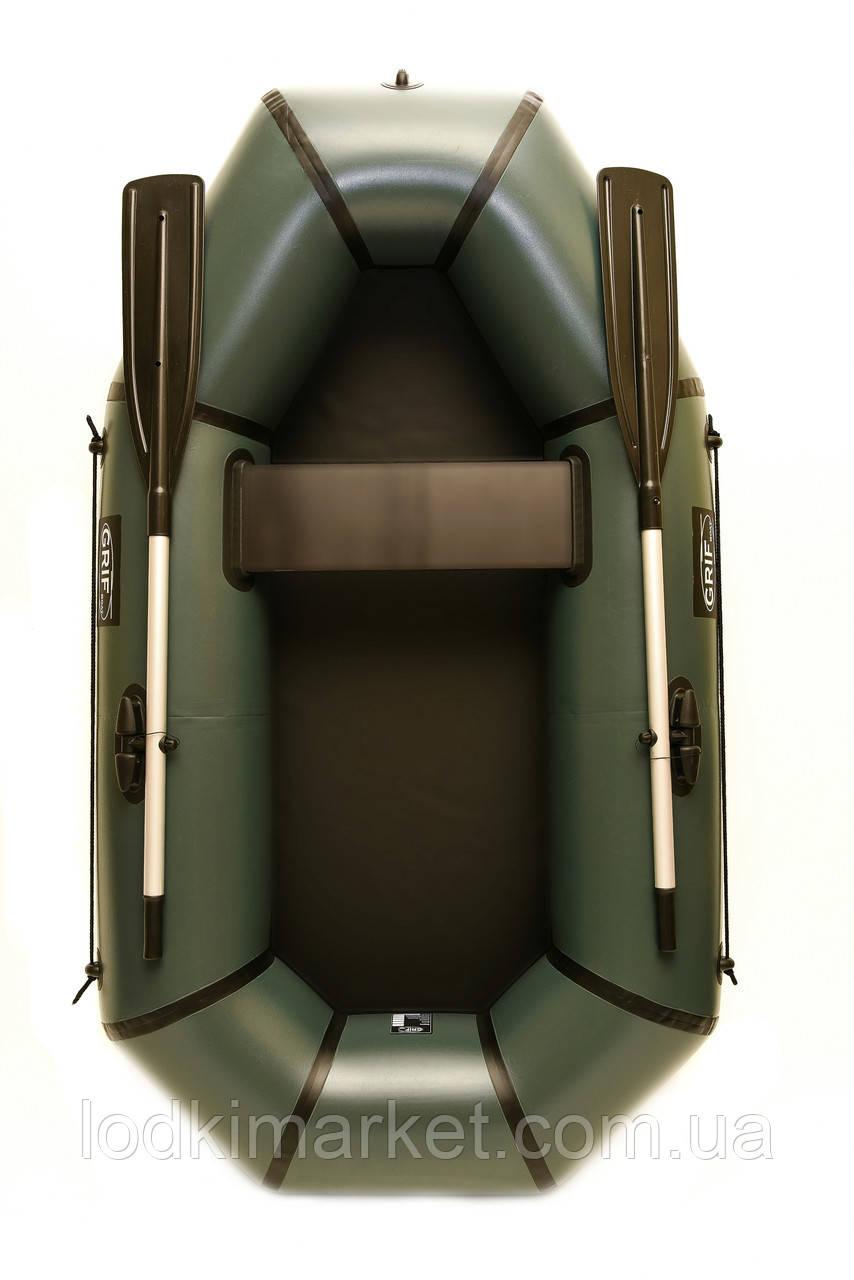 Полуторная надувная Лодка ПВХ Grif boat GH-210L