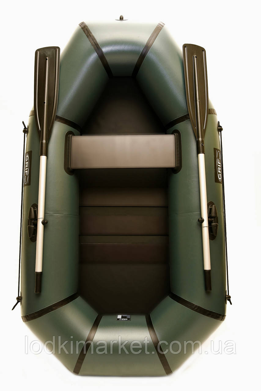 Полуторная надувная Лодка ПВХ Grif boat GH-210LS