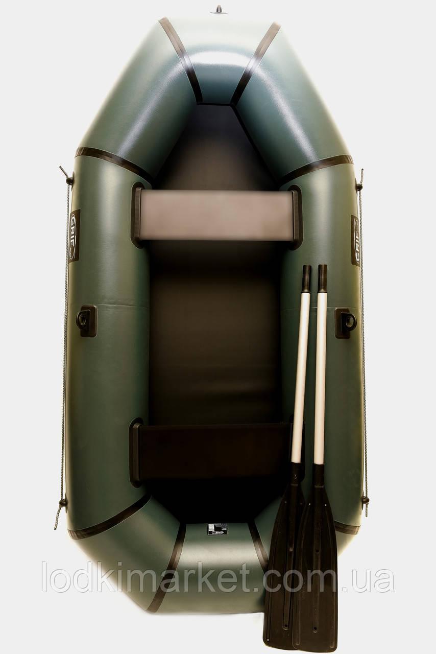 Двухместная надувная Лодка ПВХ Grif boat GH-240