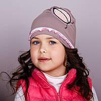 Модная шапка для девочек оптом, весна-осень  - Артикул 1734, фото 1