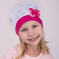 Шапка с бантиком для девочек 2017 оптом - Артикул 2119