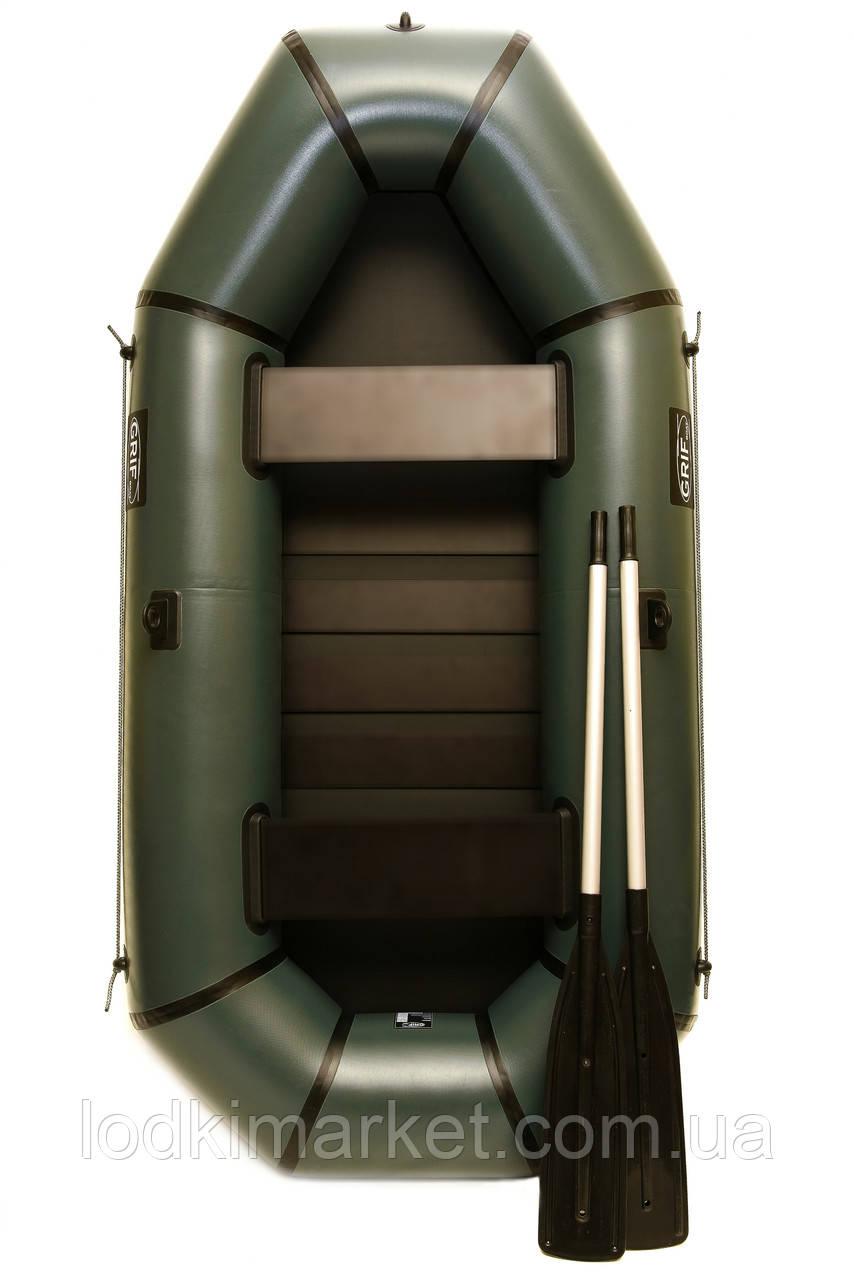 Двухместная надувная Лодка ПВХ Grif boat GH-240S