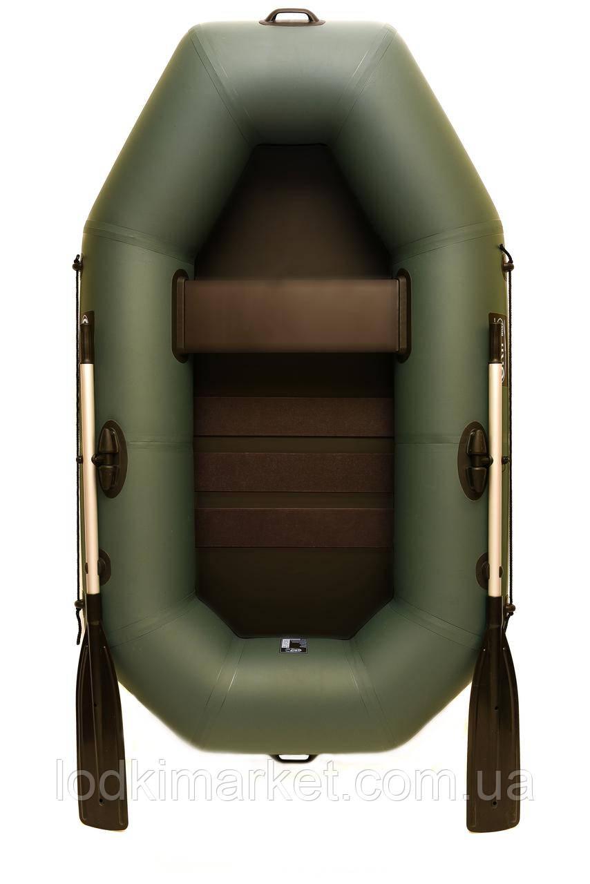 Полуторная надувная лодка ПВХ Grif boat G-210