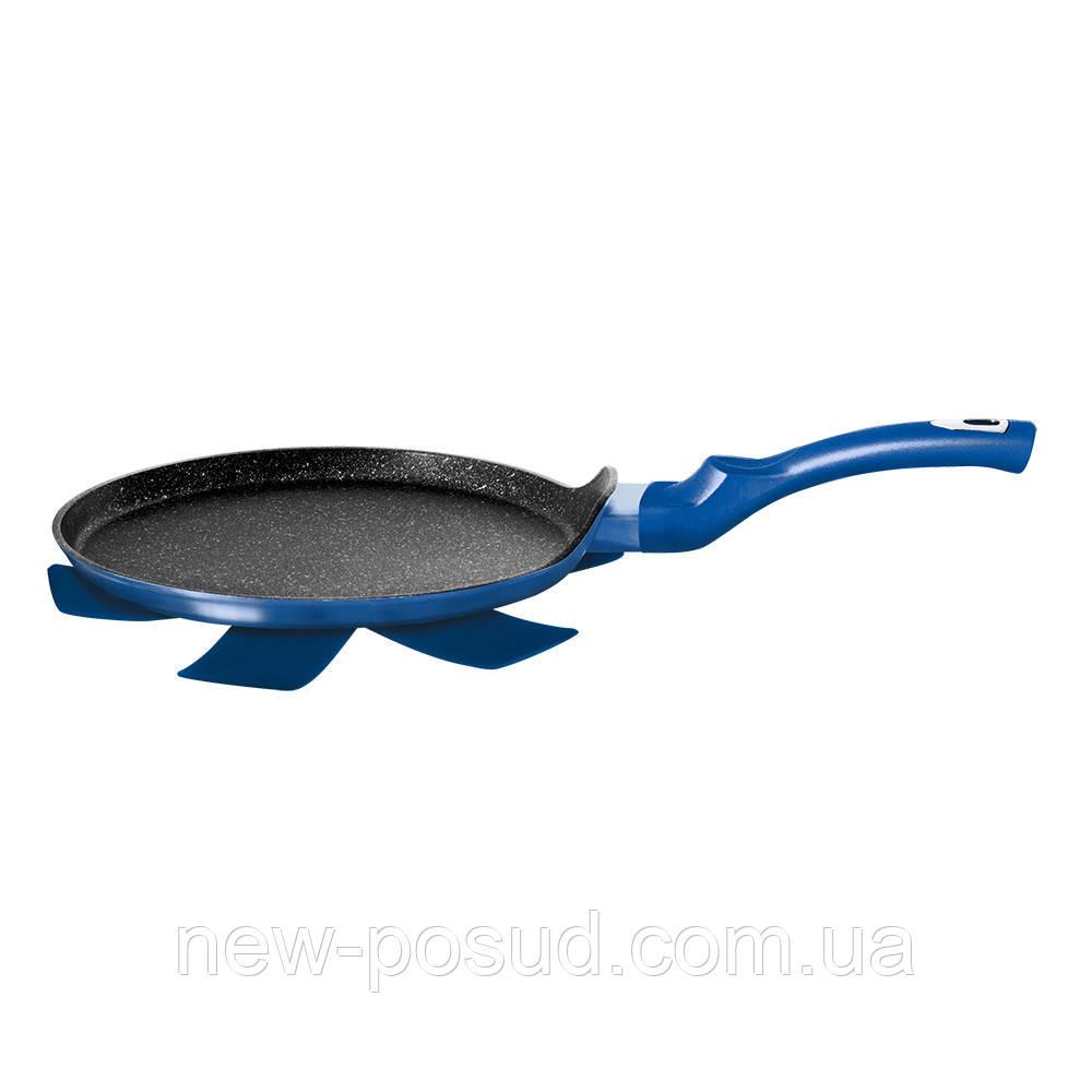 Сковорода для блинов Berlinger Haus Royal Blue Edition Metallic Line 25 см BH-1652N