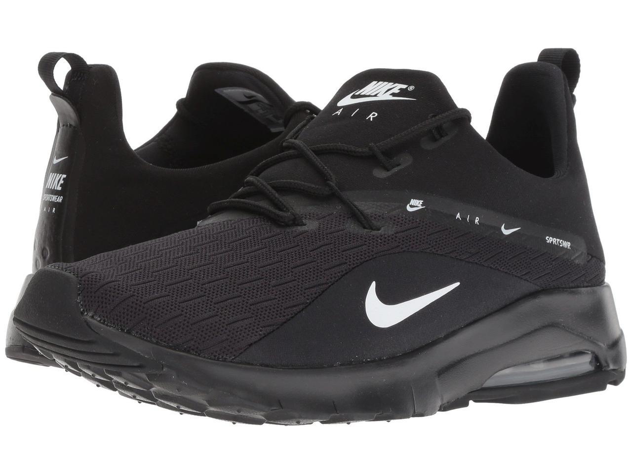 Кроссовки Кеды (Оригинал) Nike Air Max Motion Racer 2 Black White ... b24c30039f0c9
