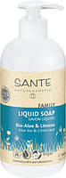 Мыло жидкое Sante Family для рук и тела Алоэ и Лимон 500 мл