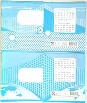 Тетрадь школьная 12 листов линия Полиграфист двухцветная 12ЛО 150 (4823040423976)