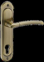 Ручка на планке A-1210-8 AB-старая бронза,SN/CP-мативий никель/полирований хром