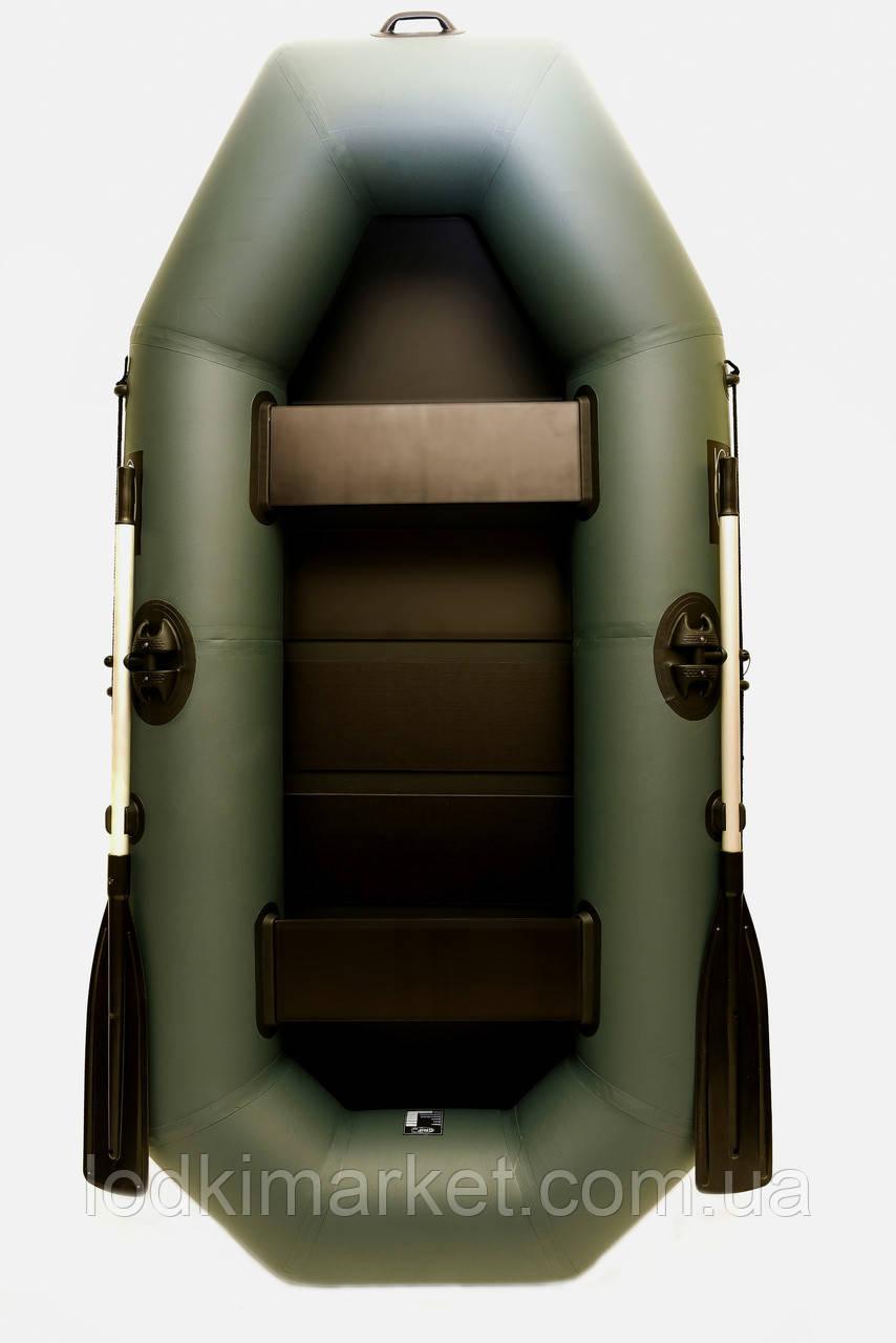 Двухместная надувная лодка ПВХ Grif boat G-250