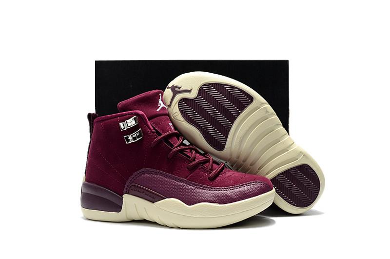 """cfdb8c8c Баскетбольные кроссовки Nike Air Jordan 12 GS """"Hyper Violet ..."""
