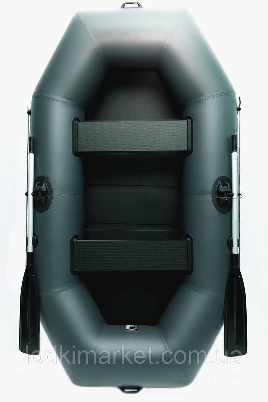 Двухместная надувная лодка ПВХ Grif boat GN-250