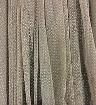 Тюль гипюр Соренто Темный Беж, готовая тюль 3м, фото 3