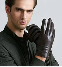 Мужские перчатки без подкладки