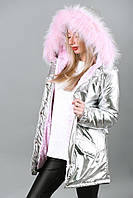 Женская куртка зимняя пальто стеганное с мехом 42-48 размер от производителя 7 км Одесса