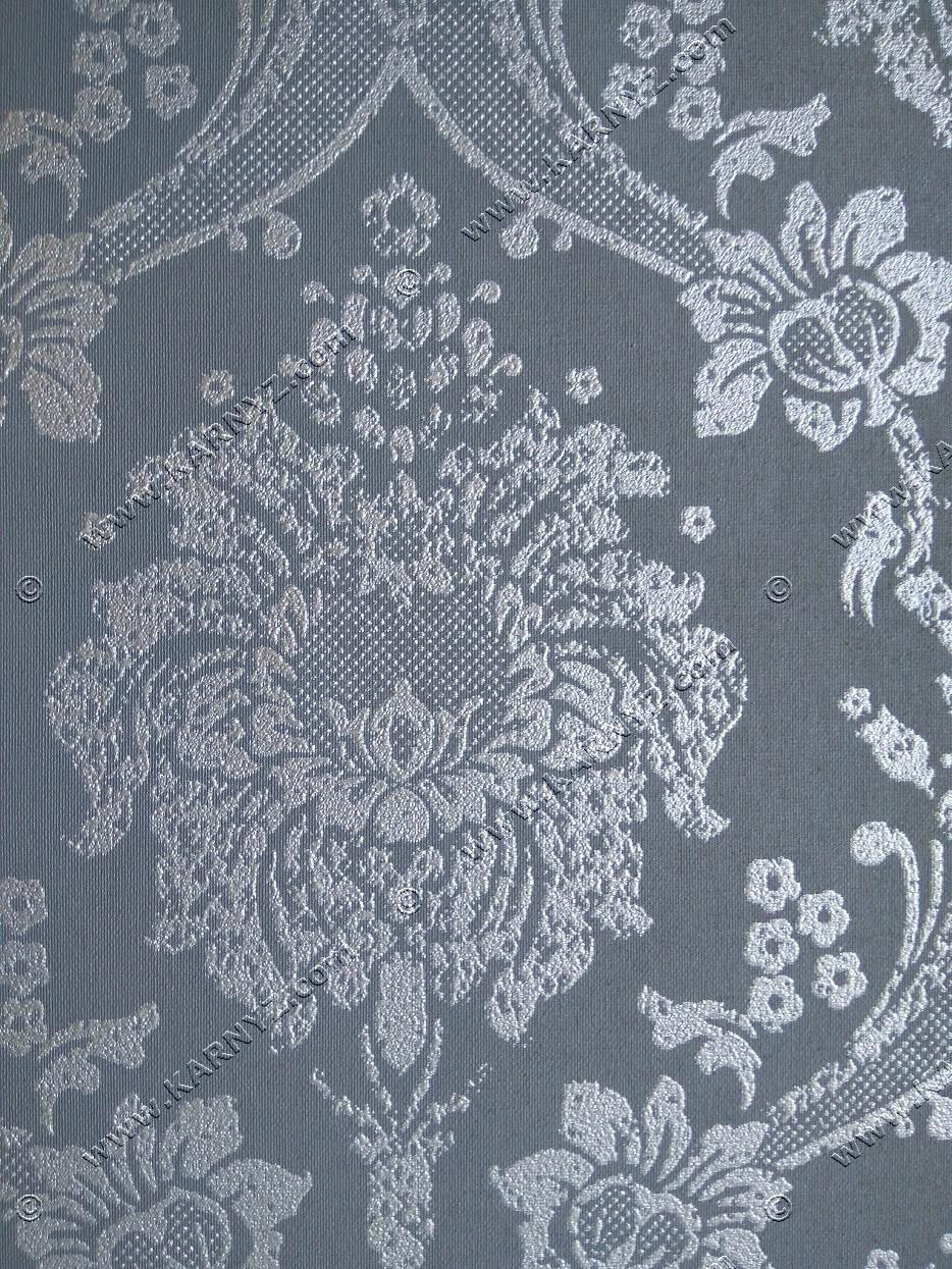 Рулонные шторы Барокко серый