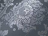 Рулонные шторы Барокко серый, фото 2