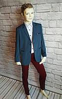 Піджак для хлопчика 6-10 років, фото 1