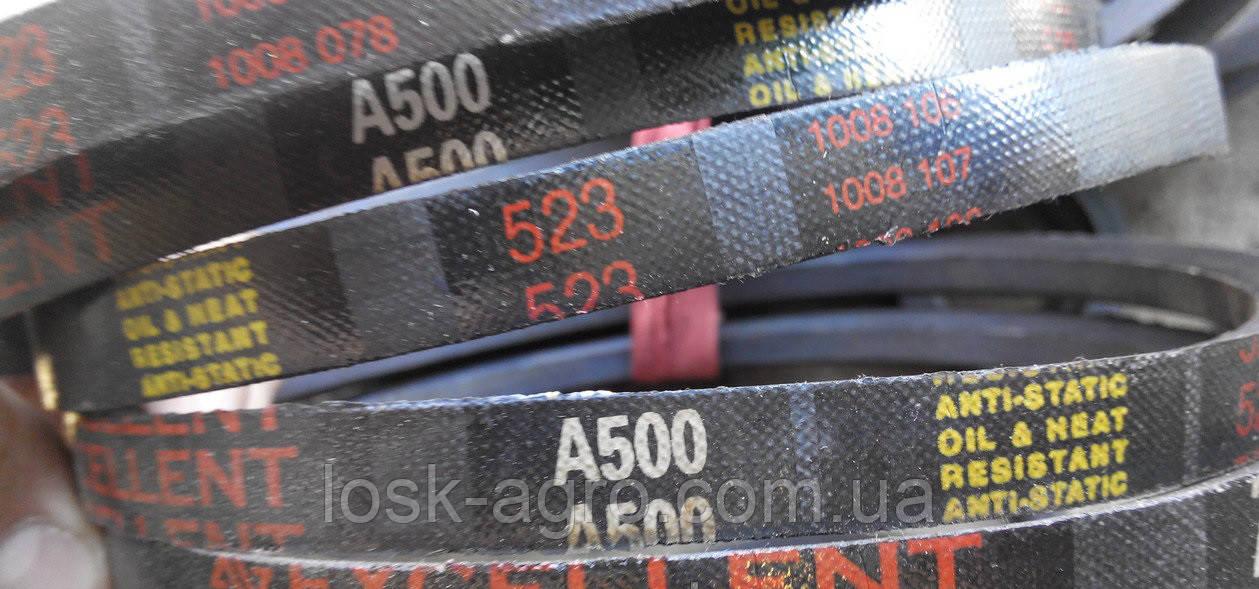 Ремінь приводний клиновий А-500