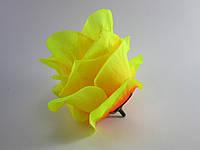 Роза желтая бутон (8 см)