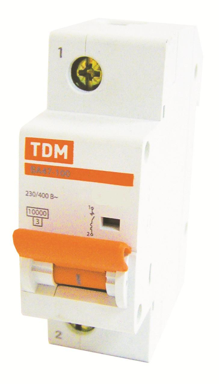 Автоматический выключатель ВА 47-100 1Р  25А 10 кА  х-ка C