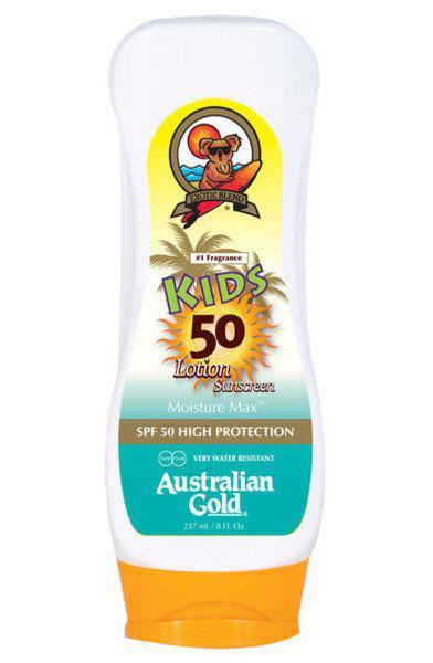 Детский солнцезащитный лосьон для тела Australian Gold Kids Lotion SPF 50+