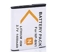 Аккумулятор NP-BN1 для фотоаппаратов Sony - 1400 ma
