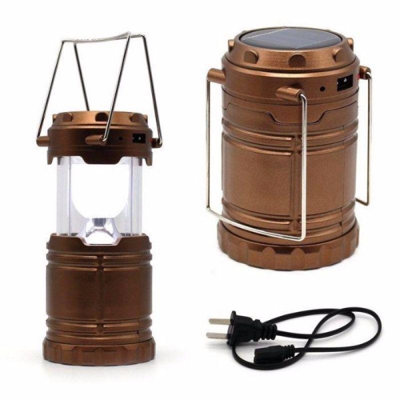 Многофункциональный светодиодный LED фонарь, зарядка от солнца, Powerbank