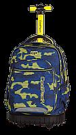 Рюкзак на колесах CooLPack SWIFT Хаки