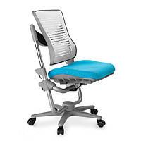 Кресло подростковое ортопедическое  COMF-PRO Angel Chair KC01  сидение голубое