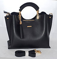 Женская сумкаB.Elit, черная ( код: IBG094B )